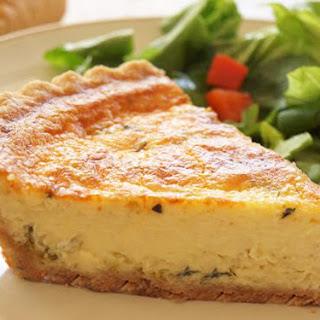 Leek & Parmesan Quiche
