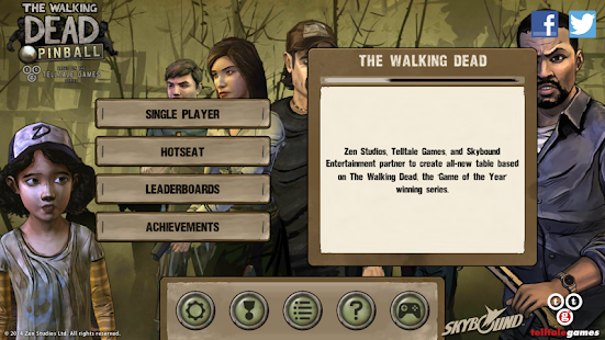 The Walking Dead Pinball - screenshot thumbnail
