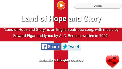 National Anthem of England