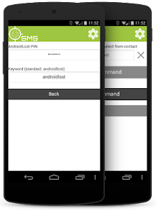 SMS client for AndroidLost screenshot 4