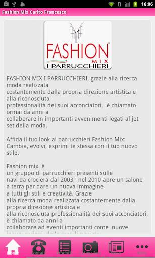 Fashion Mix Carito Francesco