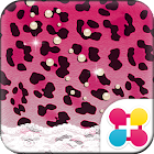 Cute Theme Pink Leopard Pearl icon