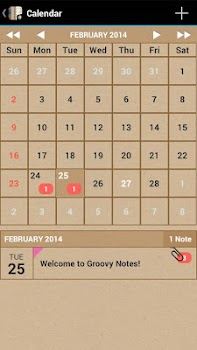 Groovy Notes - Personal Diary