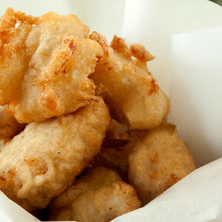 Bacalao Fritters.