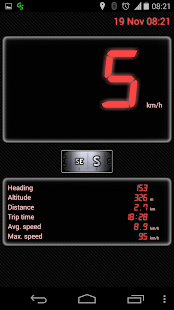 GPS Speedometer Free - screenshot thumbnail