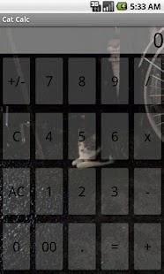 Calculator Cat - screenshot thumbnail