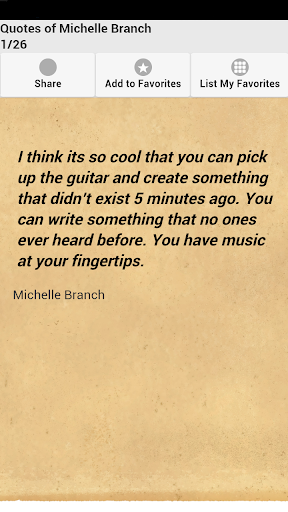 Quotes of Michelle Branch