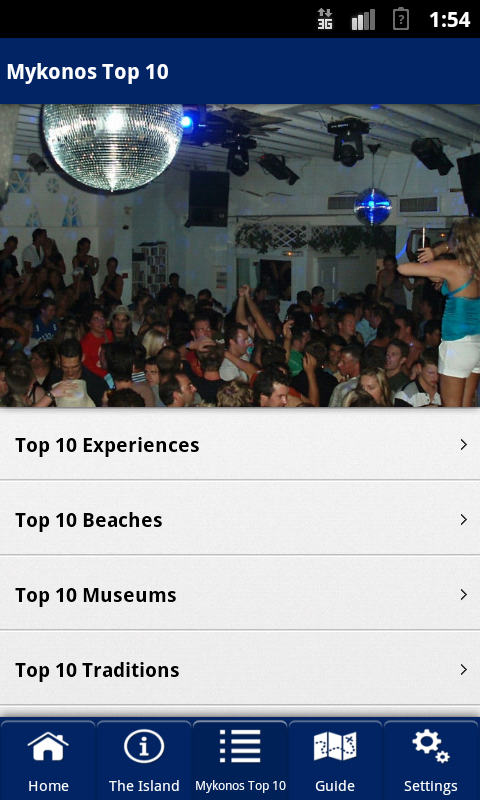 Mykonos Top 10- screenshot