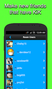 chat rooms for kik android apps on play