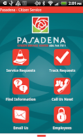 Screenshot of Pasadena - Citizen Service