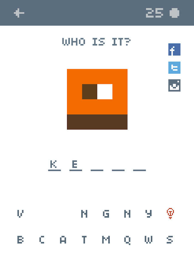 Quiz, Pixel Quiz- screenshot