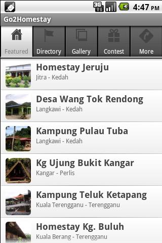 Go2Homestay - screenshot