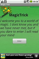 Screenshot of MagicTrick
