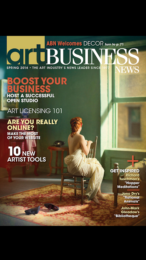 Art Business News- screenshot