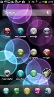 Sphere Theme GO/Apex/Nova HD- screenshot thumbnail