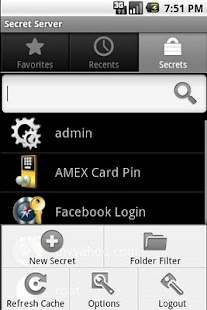 Password Manager Secret Server- screenshot thumbnail