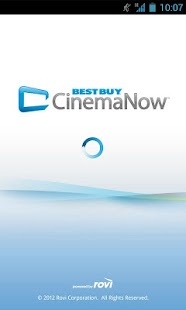 Best Buy CinemaNow - screenshot thumbnail