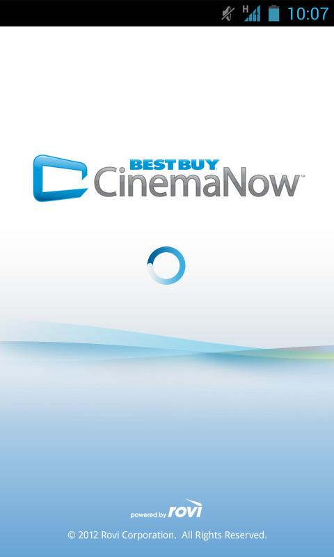 Best Buy CinemaNow - screenshot
