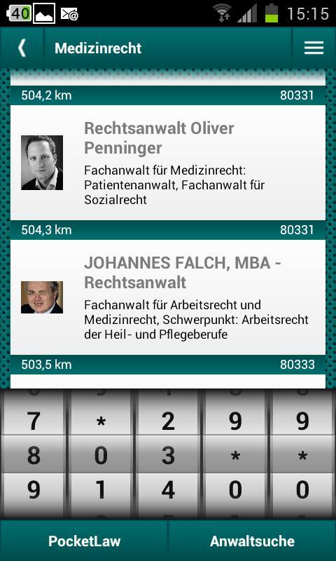 Medizinrecht- screenshot