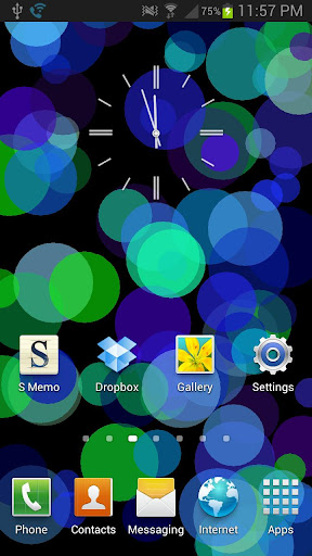 Circles Live Wallpaper