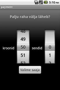 Mobiilimakse abivahend - screenshot thumbnail