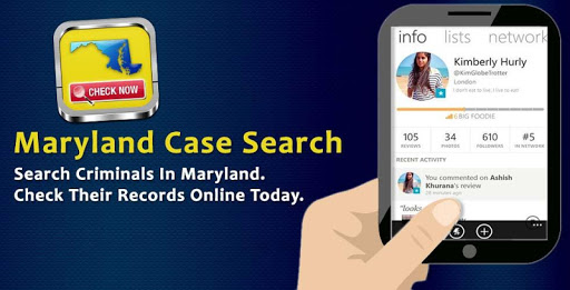 Maryland Case Search