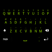 Solid Green Keyboard Skin