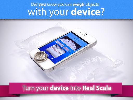 Digital Scale simulatotion app