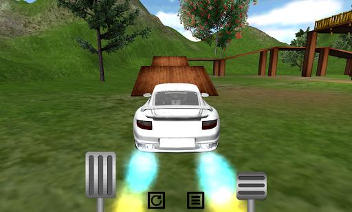 車平台爬升賽車3D