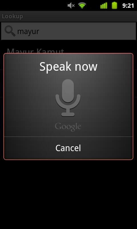 Google Apps Lookup screenshot #2