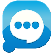 Easy SMS solid Blue theme