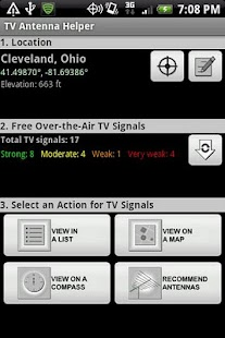 TV Antenna Helper - screenshot thumbnail