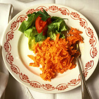Grated Carrot Salad.