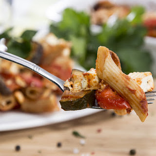 Lidia Bastianich's Baked Whole Wheat Ziti With Chicken and Zucchini