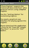 Screenshot of Chess Engines