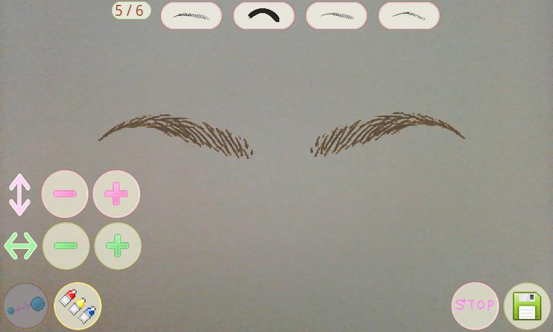 Eyebrow Mirror - screenshot