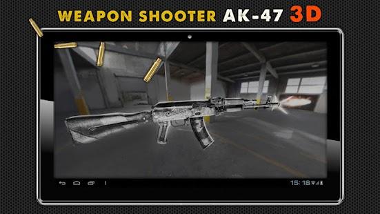射击武器AK- 74 3D
