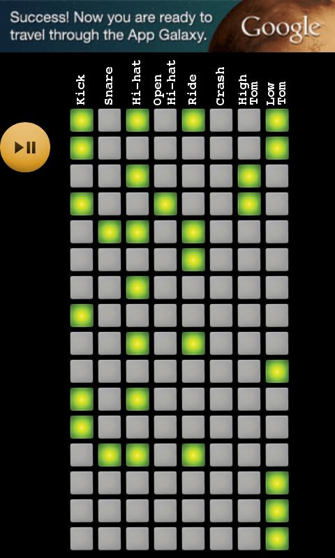 drum grid android apps on google play. Black Bedroom Furniture Sets. Home Design Ideas