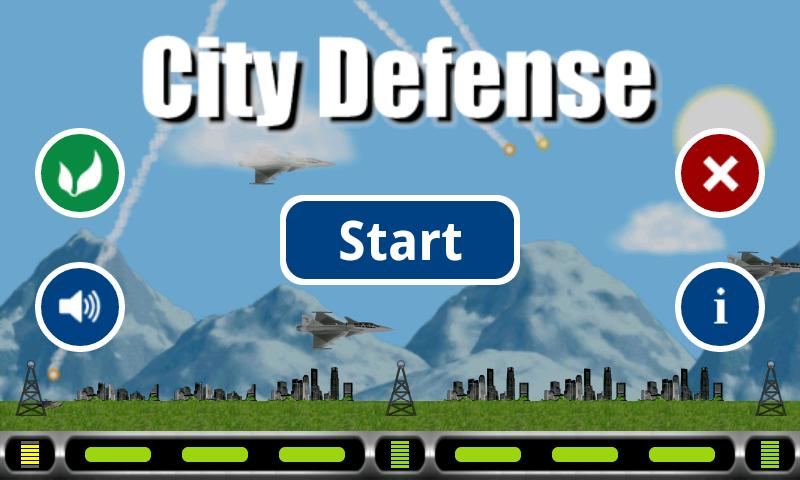 City Missile Defense- screenshot