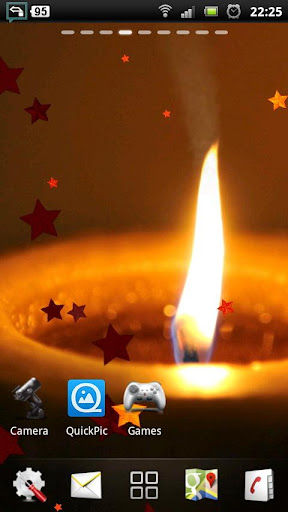 Candle live wallpaper