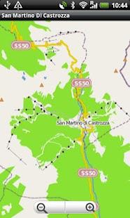 San Martino Di Castrozza Map- screenshot thumbnail