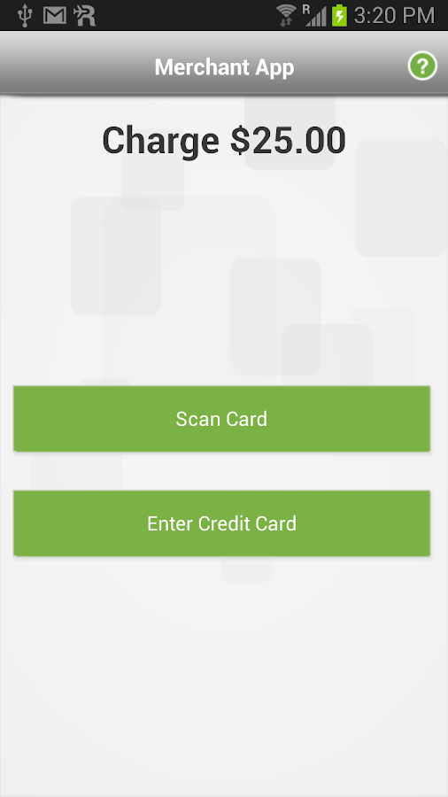Merchant App - screenshot