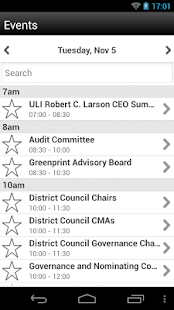 ULI Events - screenshot thumbnail