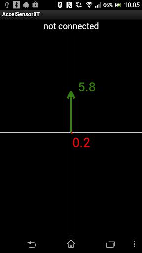 Accelerometer sensor