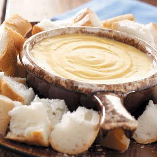 French Onion Cheese Fondue.