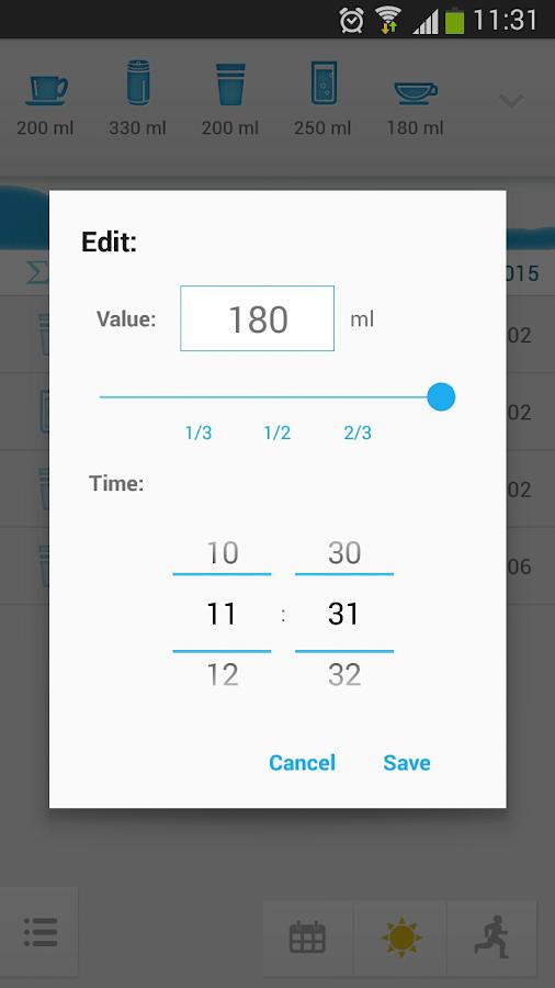 Hydro drink water - screenshot