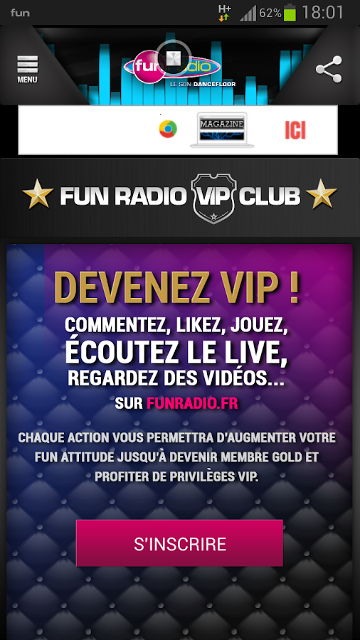 Fun Radio - Le son Dancefloor- screenshot