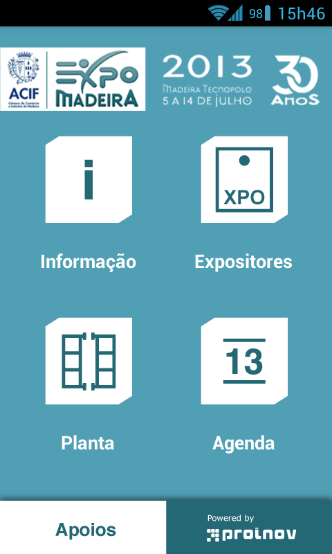 Expomadeira - screenshot