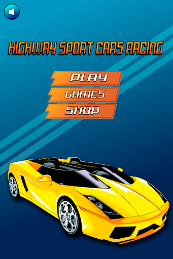 Highway Sport Cars Racing