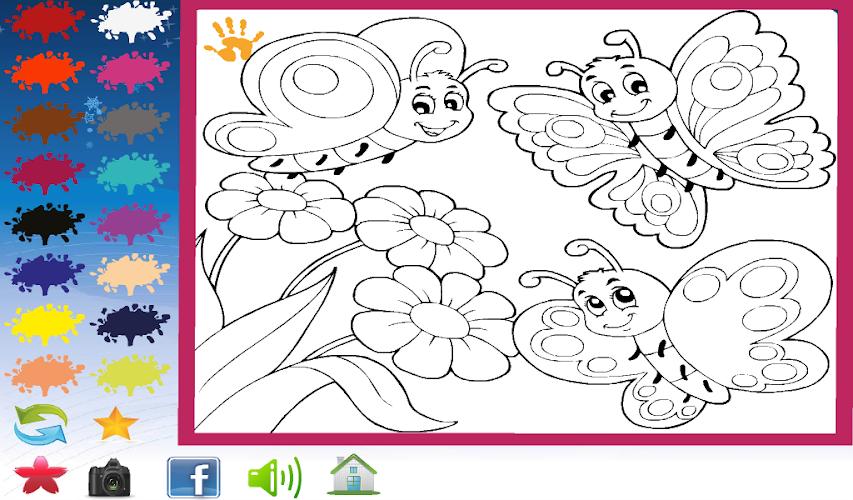 Детская игра раскраски онлайн, днем рождения тат